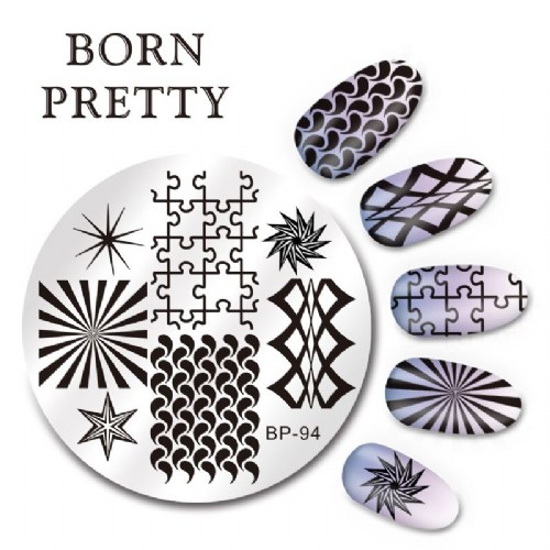 Born Pretty Plate # BP-94